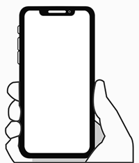 Smartphone in a hand