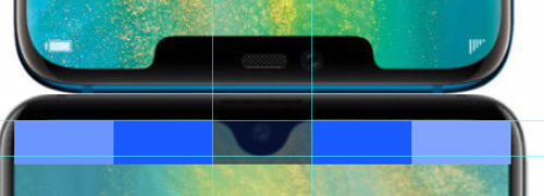 Huawei Mate 20 notch size